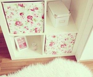 cute, white, and decor image
