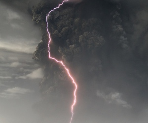 lightning, storm, and sky image