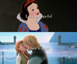 love, disney, and frozen image