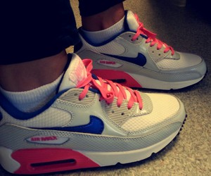 air max, girly, and shoes image