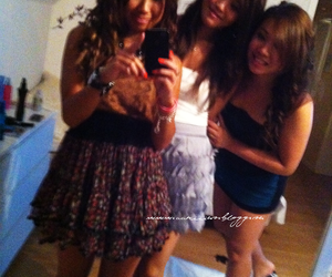 beautiful, girls, and party image