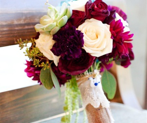 bouquet, cream, and fall image