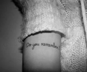 tattoo, remember, and black and white image