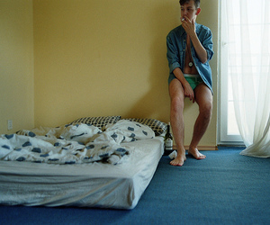 35mm, bed, and bedroom image