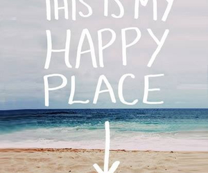 beach, place, and love image