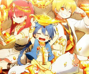 magi, anime, and morgiana image