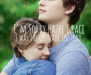 the fault in our stars, tfios, and Grenade image