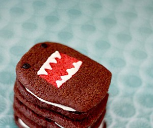 domo, cute, and Cookies image