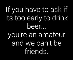 amateur, beer, and quotes image