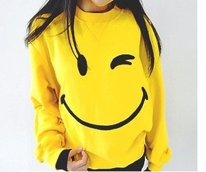 smile and yellow image