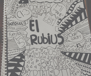 elrubiusomg, dibujo, and youtuber image