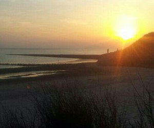nordsee, sonnenuntergang, and summer image