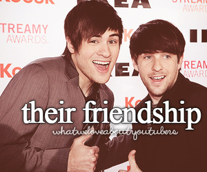 friendship, youtube, and youtubers image