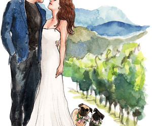 art, bride and groom, and inslee haynes image