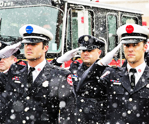 chicago fire, casey, and severide image