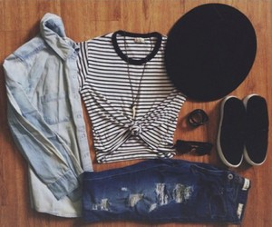 outfit, black, and cool image