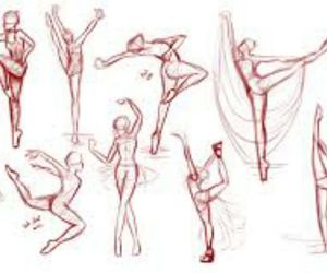 dance, danse, and draw image