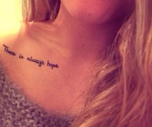 hope and tattoo image