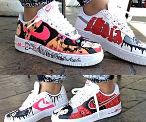nike, perfection, and shoes image