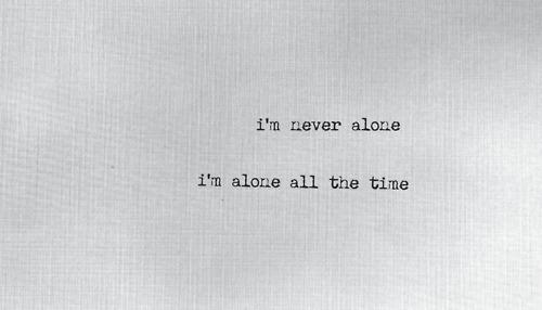 alone, bush, and Lyrics image