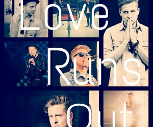 onerepublic, ryan tedder, and love runs out image