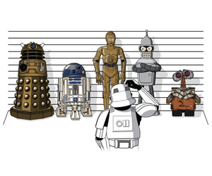 Bender and star wars image