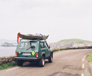 camping, road, and jeep image