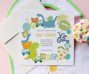 baby shower, baby shower invitations, and baby shower invites image