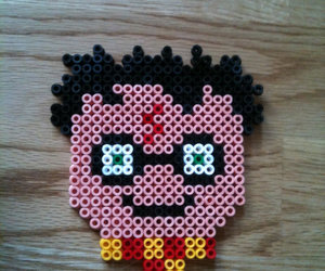 harry potter, hama beads, and hama beads harry potter image