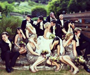 wedding and kiss image