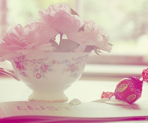 cup, flower, and nice image