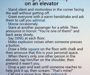 do, elevator, and funny image
