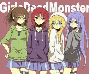 anime, angel beats, and girls dead monster image