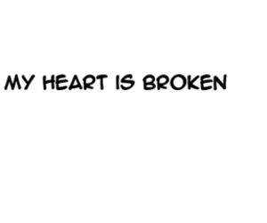 broken, emotions, and heart image
