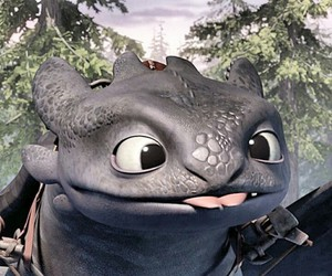 alpha, toothless, and how to train your dragon image