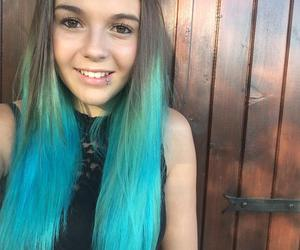 blue, bluehair, and fashion image