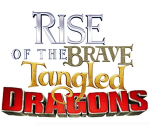 brave, tangled, and dragons image