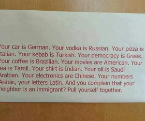 immigrants and pull yourself together image