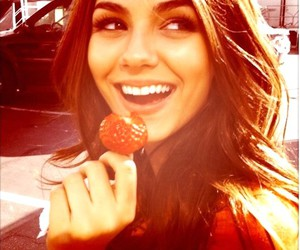 victoria justice, smile, and strawberry image