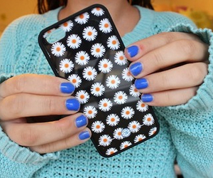daisies, iphone, and phone case image