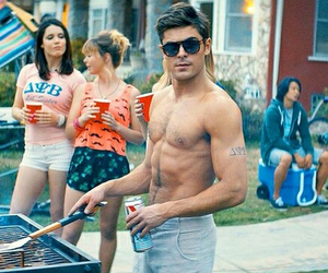 barbecue, zac effron, and hot guy image