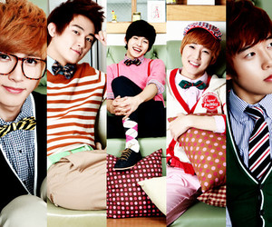 u-kiss, AJ, and eli image