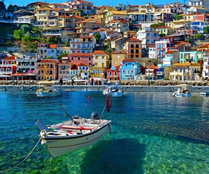 Greece, boat, and summer image