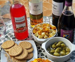 cheese, wine, and friends image