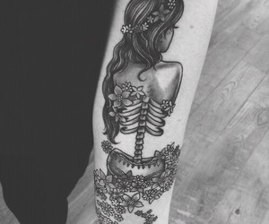 tattoo, girl, and cool image