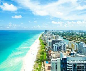beach, Miami, and city image