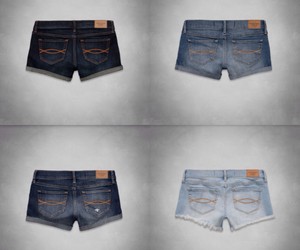 abercrombie and fitch, abercrombie, and shorts image