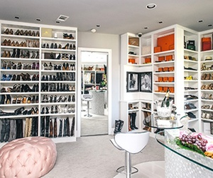 chanel, YSL, and closet image