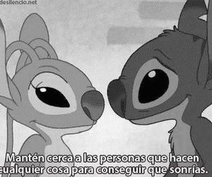 amor, disney, and stich image