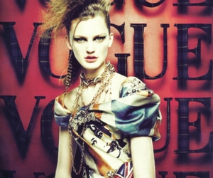 vogue, fashion, and model image